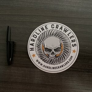 Hardline Crawlers Stickers